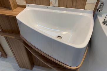 Cracked Bathroom Sink