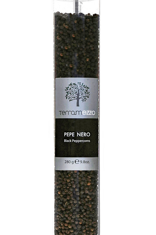 Terramezzo Black Pepper Tall Grinder (280g)