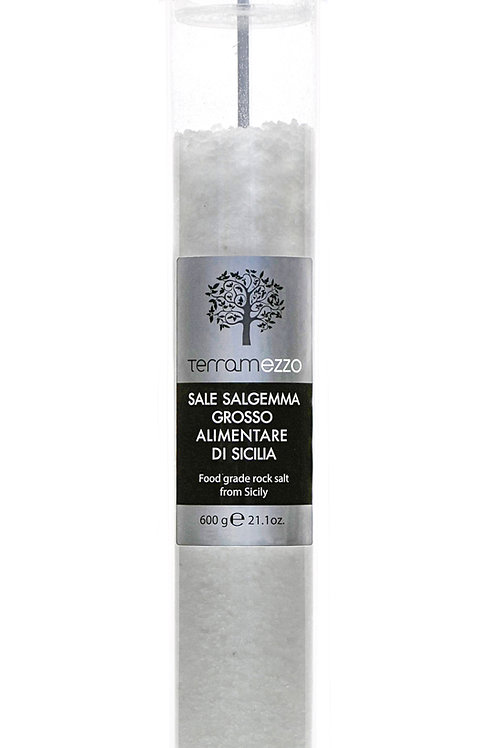 Terramezzo Sicilian Salt Tall Grinder (600g)