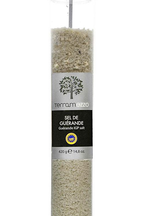 Terramezzo Guérande Salt Tall Grinder