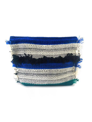 Boho Fringe Medium Pouch - Salone Weave