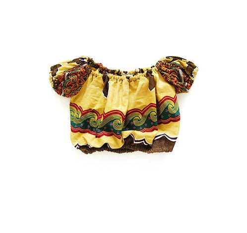 Girls Woodin Wave Bubble Top