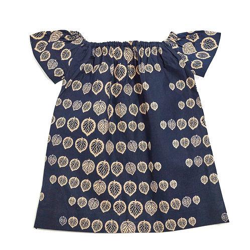 Girls Off-Shoulder Boho Dress- Vernonia