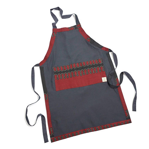 Reversible Apron-Red Sand Print