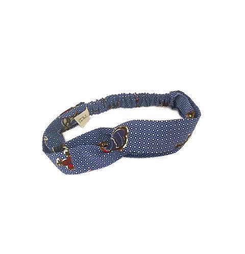 Navy Rhoost - Headband