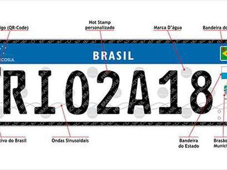 Placa padrão Mercosul: Suspensa por decisão judicial