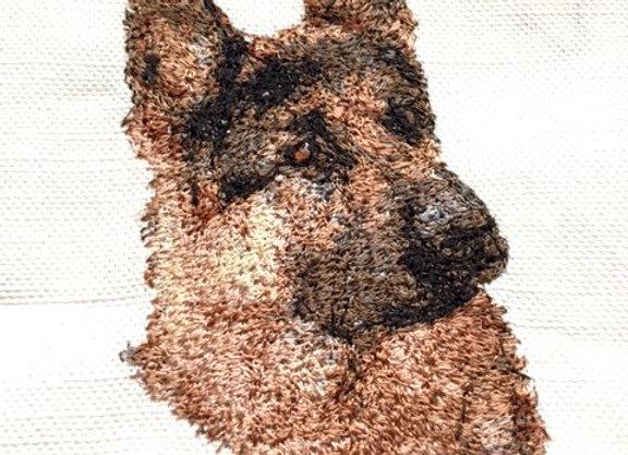 German Shepherd (Small) 4 x 4