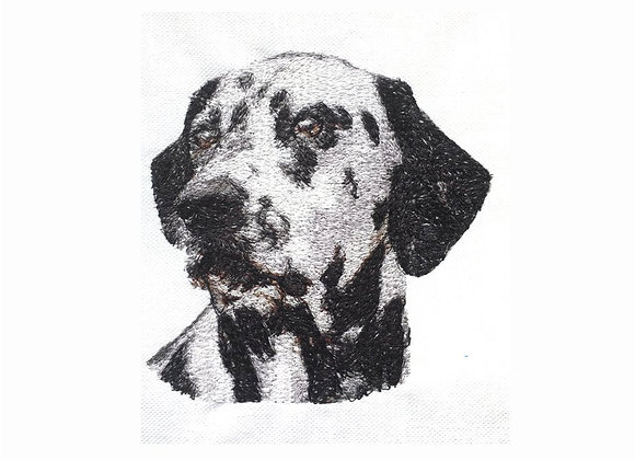 Dalmatian Photo Stitch Design