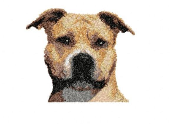 Staffordshire Terrier Photostitch