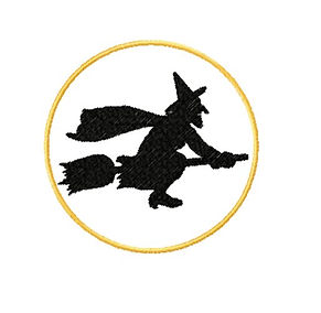 Witch free embroidery design