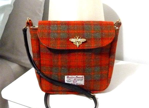 Tutorial for Harris Tweed Shoulder Bag