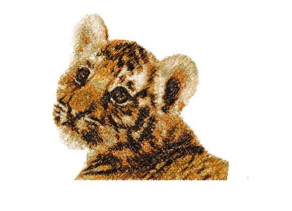 Tiger Cub Photostitch