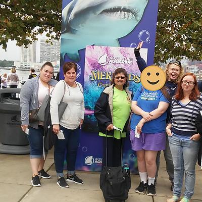 Trip to the Camden Aquarium