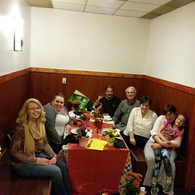 Volunteer Dinner at Tokyo in Freehold, NJ