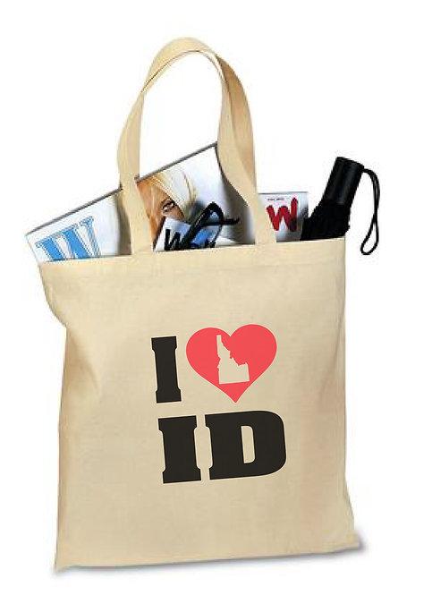 Tote Bag  I &lt3 ID