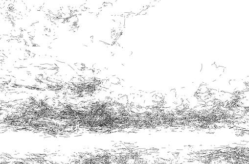 Clouds, 2012 (Detail)