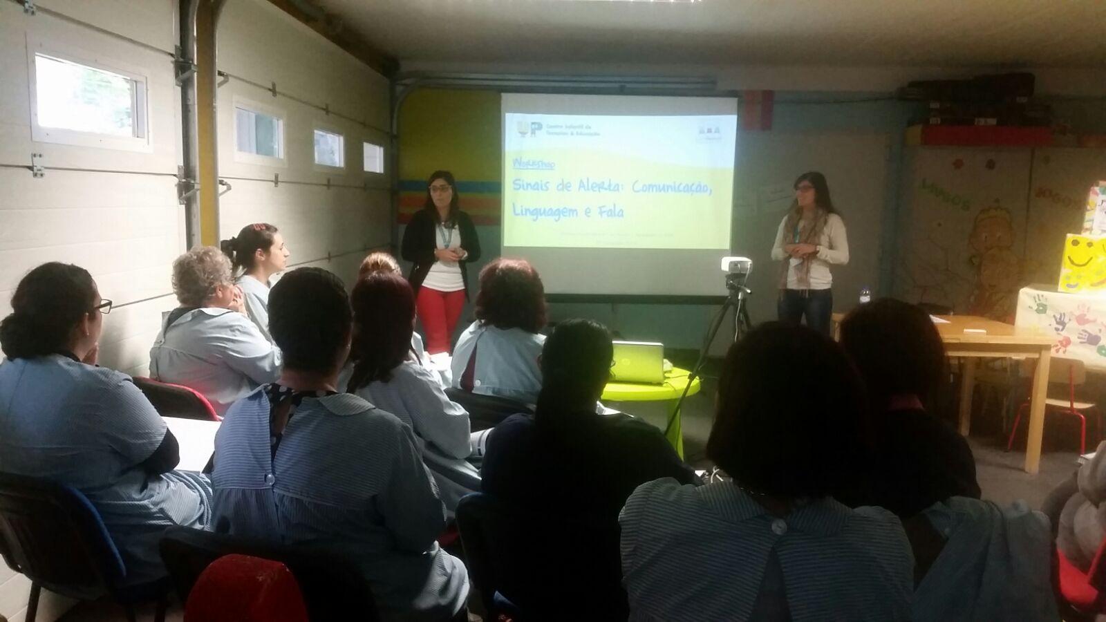 Workshop Sinais de Alerta - JI Dom Pedro, Barreiro