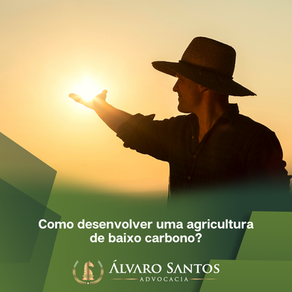 Como desenvolver uma agricultura de baixo carbono?