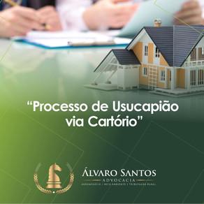 Processo de Usucapião via Cartório