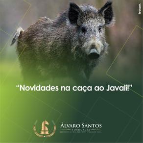 Novidades na caça ao Javali!