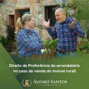 Entenda o Direito de Preferência do arrendatário no caso de venda do imóvel rural!
