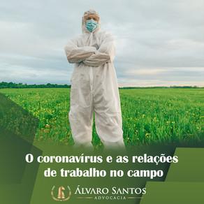 O coronavírus e as relações de trabalho no campo