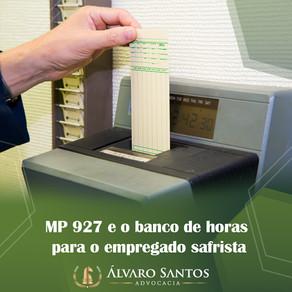 MP 927 e o banco de horas para o empregado safrista