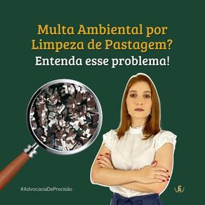 Multa Ambiental por Limpeza de Pastagem? Entenda esse problema!