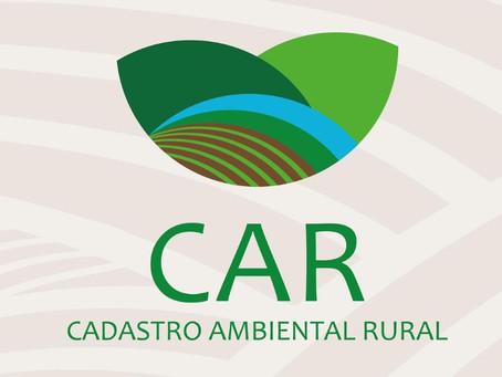 CAR: o produtor rural produz e preserva!