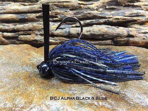 Alpha Black and Blue Football Jig
