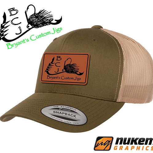Green and Khaki Hat