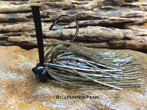 Pumpkin Pearl Football Jig