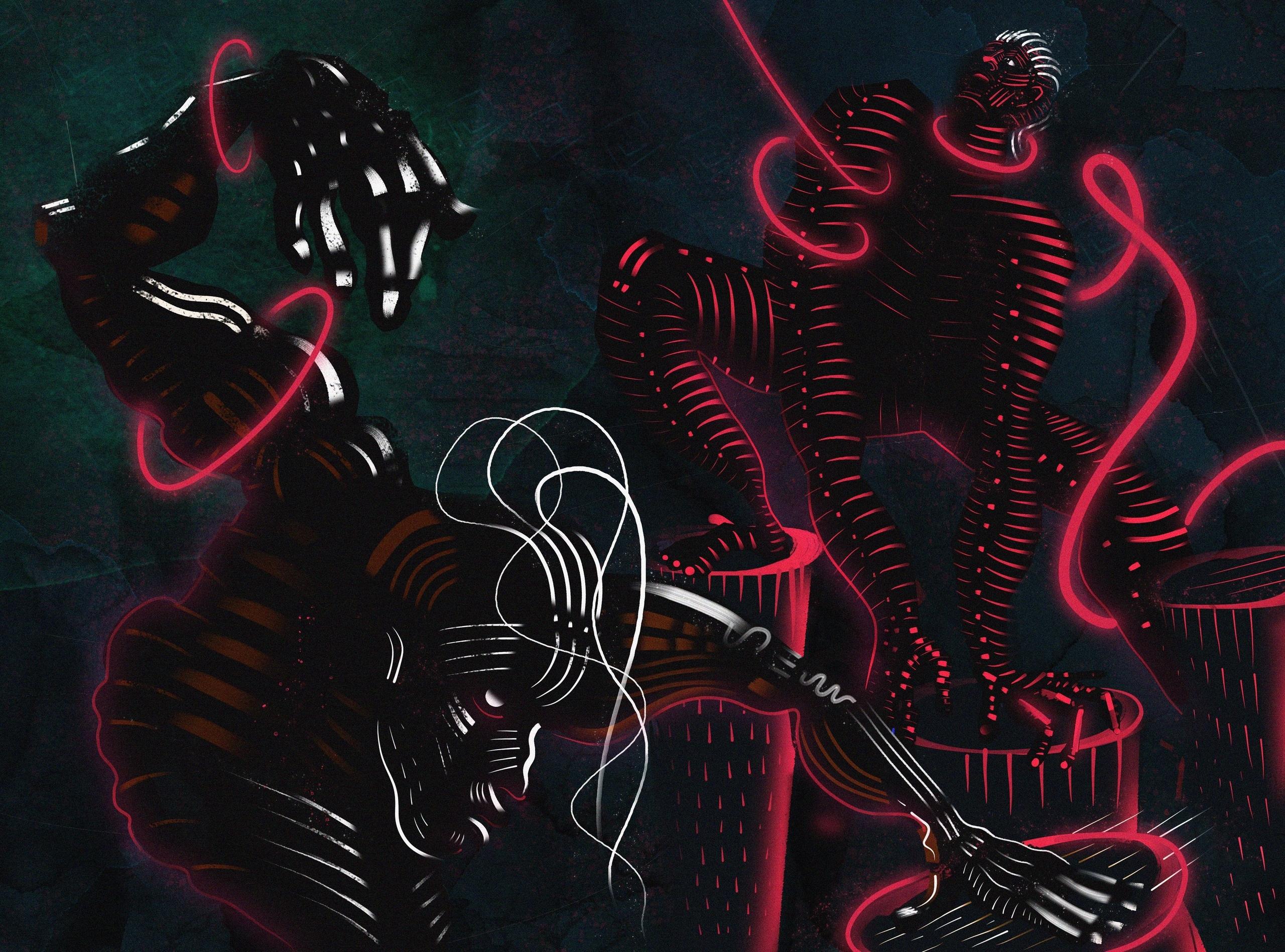 Ritual dance,2018