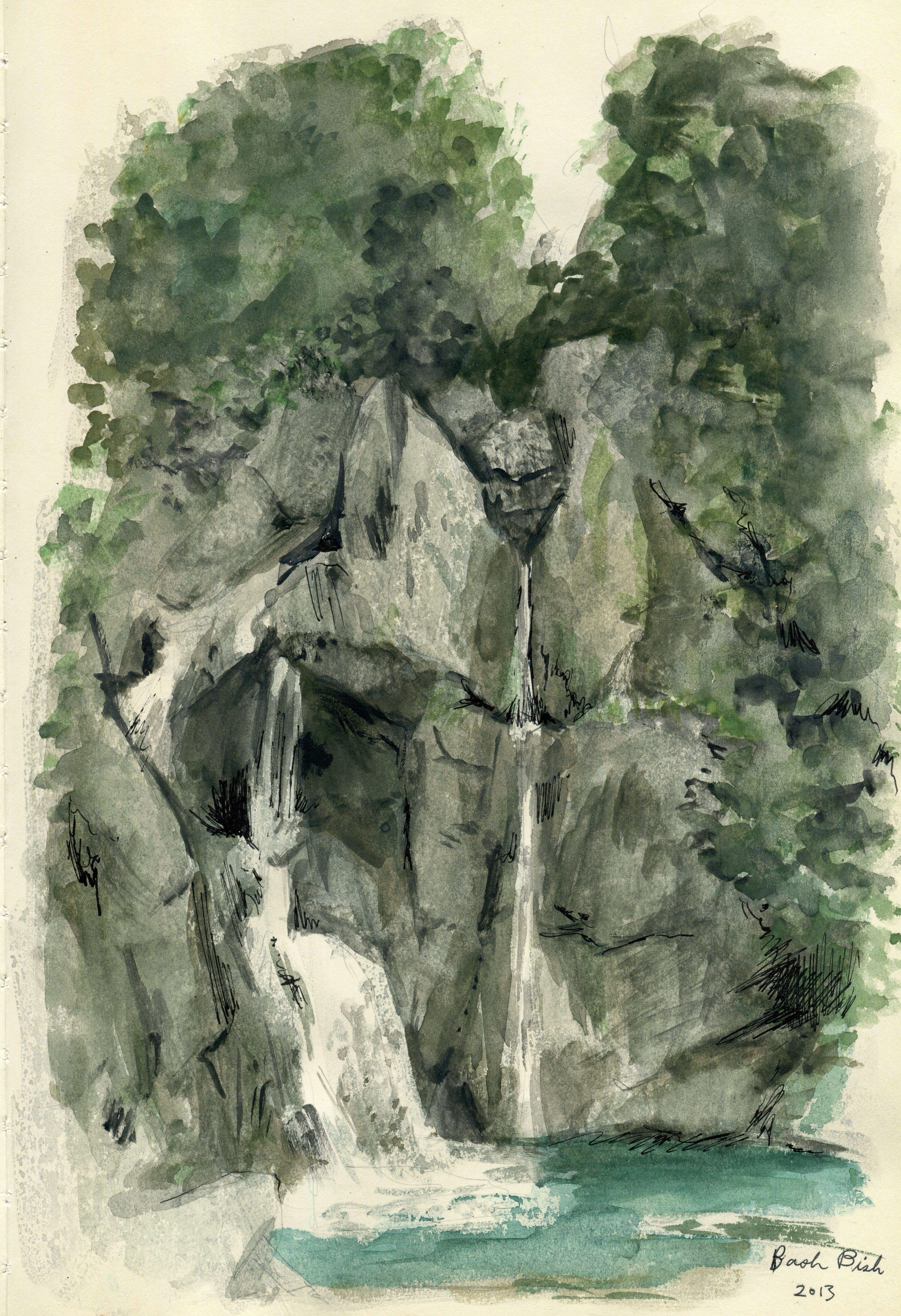 Bash Bish Falls 2013