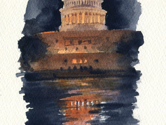 Washington DC: National Mall Sketchcrawl