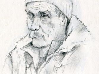 Friday's Subway Sketches