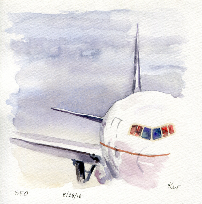 CA Sketchcation: A Tale of Four Airports