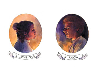 Han and Leia