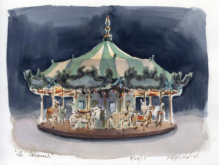 Bryant Park: Le Carrousel