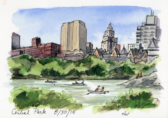 Flashback Friday: Central Park