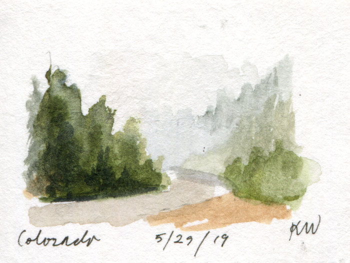 Colorado Sketchcation: Day 6