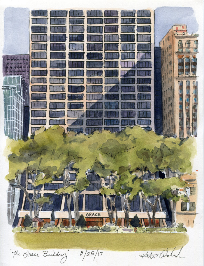 Bryant Park: The Grace Building