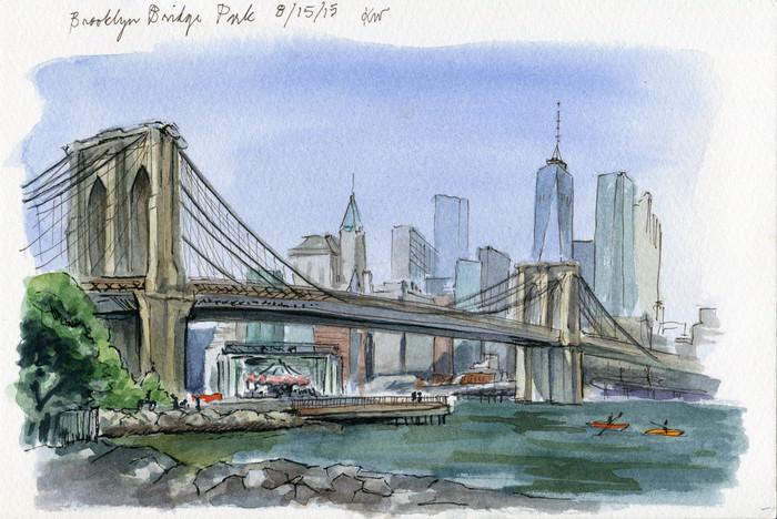 Flashback Friday at Brooklyn Bridge Park