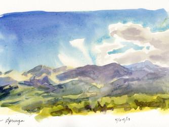 Colorado Sketchcation: Day 1