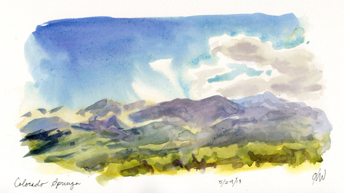 Colorado Sketchcation: Day 1