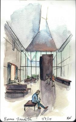 Barnes Foundation Lobby