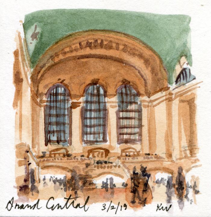 Grand Central: In Miniature