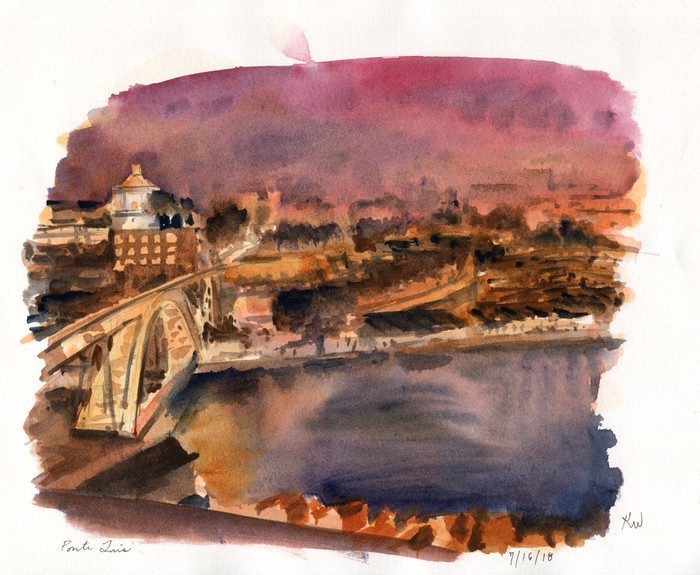 Portugal Sketchcation: Day 1
