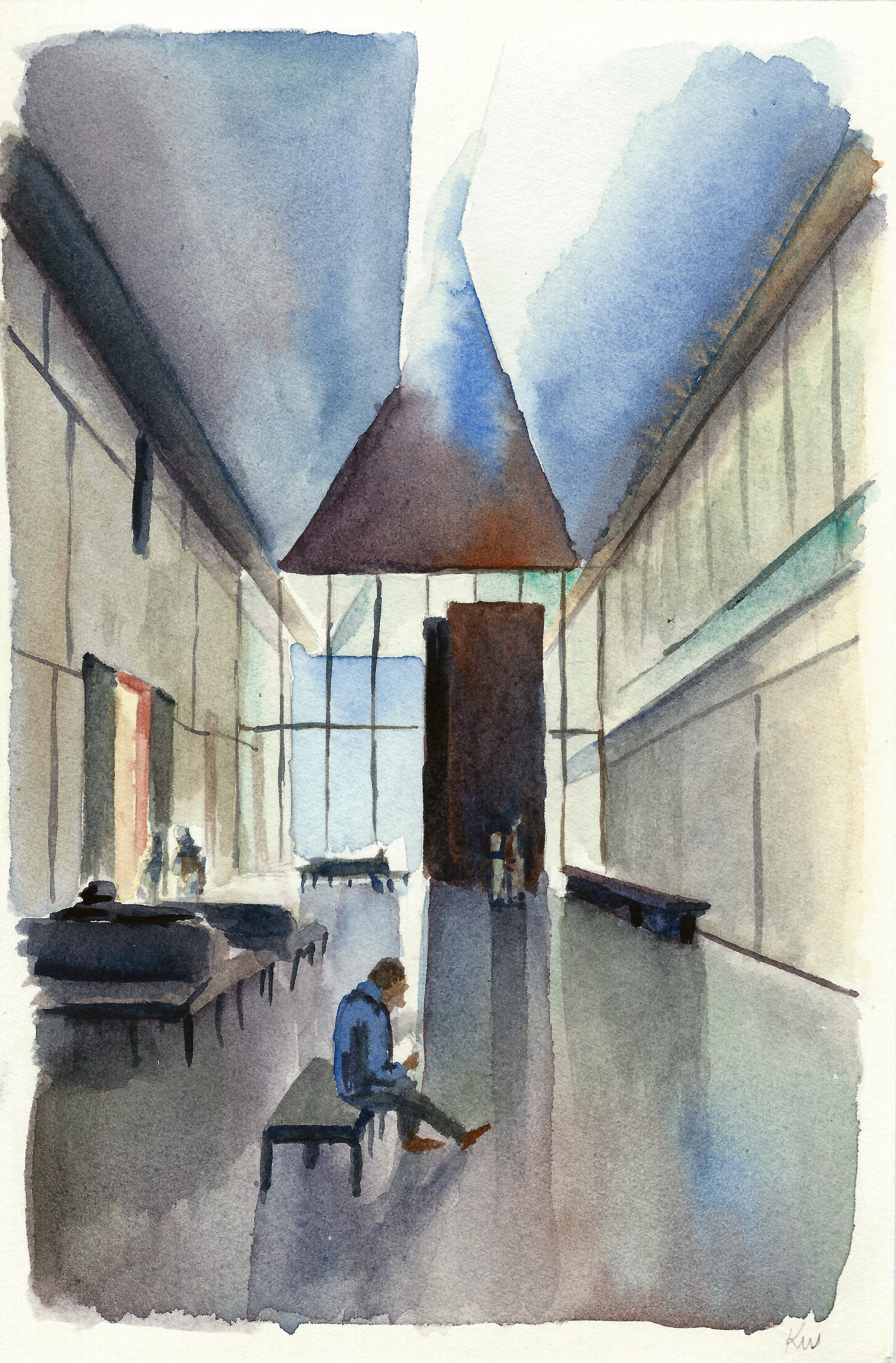 Barnes Foundation Lobby