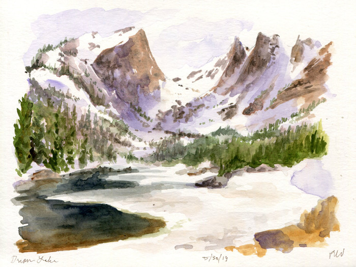Colorado Sketchcation: Day 7